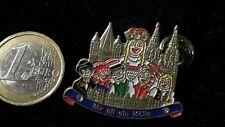 Karneval Fastnacht Köln Pin Badge Motto mir all sin Kölle