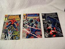Darkhawk #3, 4, 17 Marvel - Set of 3