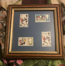 1966 World Cup Stamps Picture Framed