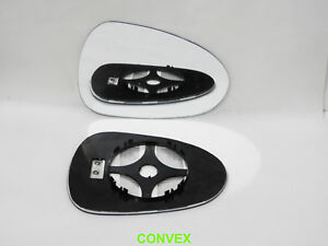 Right Side Convex Wing Mirror Glass for Seat Leon 2009-2012 Heated #TV009