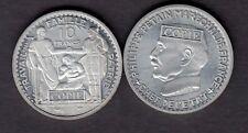 ★★ COPIE DE L'ESSAI ALUMINIUM DE BAZOR ET GALLE 10 FRANCS 1941 PETAIN ★★