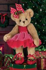 "14"" CLARA BELLARINA*Bearinton Teddy Bear*NEW*NWT*Ballet*CHRISTMAS*Ballerina"