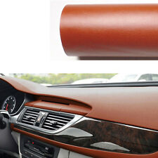 "3D Leather Texture Car Interior Decor Trim Sheet Film Decal Sticker 60""x 39"""