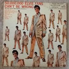 ELVIS Original 1959 1st Press 'Gold Records Vol.2' Long Play MONO LP,  LPM-2075