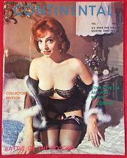 VTG 60s Continental Mag #1 Judy O'day Anita Ventura NYLONS HEELS GIRLIE PINUPS