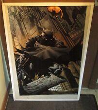 BATMAN POSTER COLLECTIBLE  MARVEL DC COMICS LIMITED PRODUCTION RUN