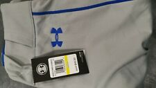 Under Armour Ace Relaxed Fit Adult Piped Baseball Pants Md / Gray with Royal