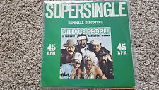 Village People - In the navy/ Manhattan woman 2 x 12''  Mixes Disco Vinyl 1979