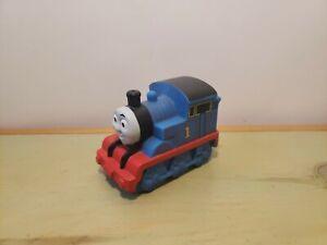 "Mattel Thomas The Train 2009 Gullane Squirt Rubber Toy Figure 3.5"" Long"