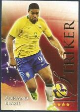 FUTERA 2010 WORLD FOOTBALL-SERIES 2- #651-BRAZIL-ADRIANO