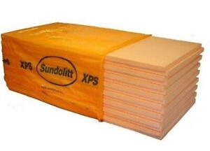 XPS Dämmung 60 mm Platten 5,25 m2  Perimeterdämmung 300 kpa ähnl. Styrodur