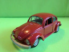 GAMA MINI  VW  BEETLE  KAFER   1302  -  RED  -   RARE SELTEN IN GOOD CONDITION