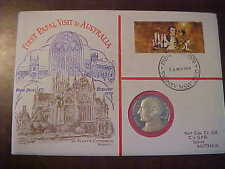 1970 HUTT COMMEMORATIVE FIRST PAPAL VISIT TO AUSTRALIA UNCIRCULATED PNC NO 13