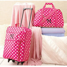 The Letter M Kids Luggage Sets For Girls Women Rolling Suitcase Duffel Bag Teens