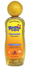 Chamomile Ricitos de Oro Shampoo | Baby Shampoo with Pop-Up Rattle Cap | 13.5 Fo