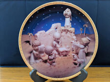"""Precious Moments Nativity Plate """"I'll Play My Drum For Him"""""""