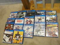 PLAYSTATION 4 Game Lot Of 17 Games---COOL AND POPULAR TITLES