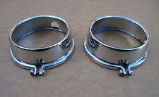 Honda CB 750 Four Chromkappen für Instrumente neu CB 750 K1-7 + F1 + CB 750 G
