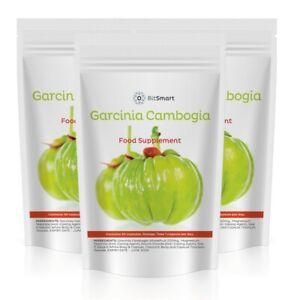 Detox Pills PURE Garcinia Cambogia Max Strength Fat Burner Appetite Suppressant