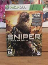 Sniper: Ghost Warrior (Microsoft Xbox 360, 2010) Steelbook Edition