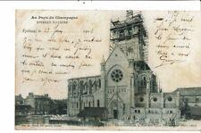 CPA-Carte Postale-France-Epernay-Construction de la Nouvelle église Notre Dame