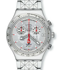 "SWATCH IRONY CHRONO ""GRAPHIC COMBINATION"" (YCS496G) NEUWARE"