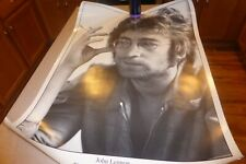 """1971 John Lennon Imagine Sessions Poster 25x5"""" Printed UK"""