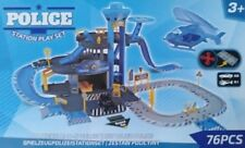 STATION JEU JOUET PARKING POLICE VOITURE ENFANT GARAGE CIRCUIT CONSTRUCTION 592