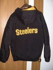 PITTSBURGH STEELERS STARTER WINTER JACKET MEN S L never worn but without  tags 25eaa2115