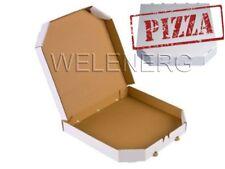 Pizzakarton 31x31x4 cm Pizzaboxen Pizzakartons Pizza Karton [ Weiß ] 10 /50 /100