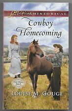 Four Stones Ranch: Cowboy Homecoming by Louise M. Gouge (2017, Paperback)