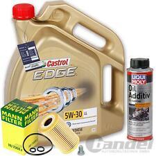 HU7008Z+CASTROL 5W30 ÖL+LIQUI MOLY+1011 VW AUDI SKODA 1.6+2.0 TDI