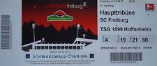 TICKET BL 2016/17 SC Freiburg - 1899 Hoffenheim
