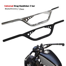"Motorcycle 1"" Drag Handlebar Z Bar For Harley Davidson Sportster 883 1200  Dyna"