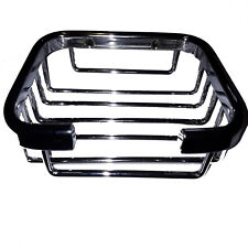 CHROME WIRE BASKET SHOWER CADDY SOAP DISH CHROME BATHROOM ACCESSORIES WALL HUNG