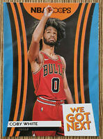 2019-20 Panini Hoops Coby White - We Got Next 🏀🔥 Rookie RC
