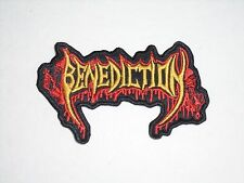 BENEDICTION DEATH METAL EMBROIDERED PATCH