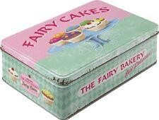 PINK FAIRY CAKES * GEBÄCK * BLECHDOSE FLACH * VORRATSDOSE * PLÄTZCHENDOSE * NEU!