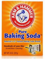 Free S/H Arm & Hammer Pure Baking Soda for Cleaning 227g 8 OZ New