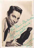 Jean Sablon Autographe Original Vintage 1939