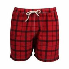 NWT! $79 BARBOUR MENS JOHN SHORTS SWIM SUIT TRUNKS RE55 PILLAR BOX XL X-LARGE