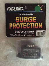 Ditek DTK-2LVLP-X 2-Pair Terminal Strip 7-14V Low Voltage Line Protector