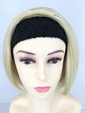 Ladies Blonde Colour Short Hair Wig Straight Short Hair Posh Wig COLOR 613
