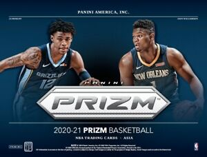 2020-21 Panini Prizm NBA Asia Tmall Exclusive New Sealed Box From Original Case