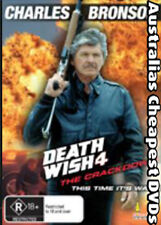 Death Wish 4 DVD NEW, FREE POSTAGE WITHIN AUSTRALIA REGION 4