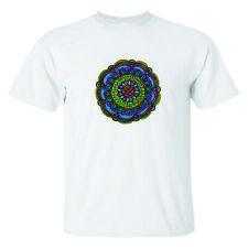 Mandala zentagle Hombre Camiseta tendencia Hippie Boho Yoga Meditación Bohemio Tee