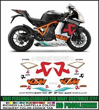 kit adesivi stickers compatibili rc8 1190 r 2010 akrapovic idm replica