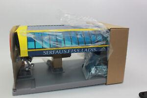 Jägerndorfer JC 84695 Bergstation blau gelb Serfaus-Fiss Ladis 1:32 NEU OVP