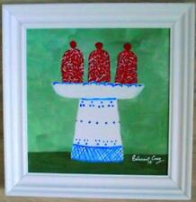 Madeleines on Jason's Comport Oil Painting by Scottish Colourist EALASAID CREAG