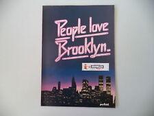 advertising Pubblicità 1979 BROOKLYN CHEWING GUM GOMME PERFETTI